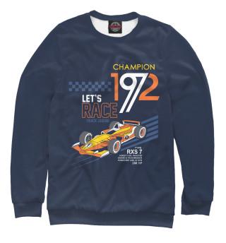 Одежда с принтом Формула-1 (122581)