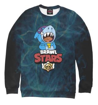 Одежда с принтом Brawl Stars: Leon Shark (752686)