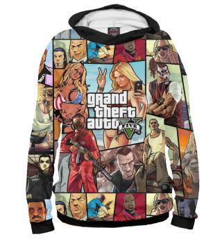 Худи женское Grand Theft Auto