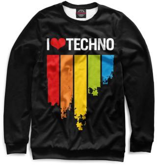 Одежда с принтом Techno (318127)