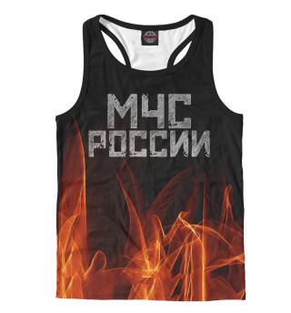 Майка борцовка мужская МЧС России (7186)