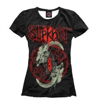 Футболка женская Slipknot (2709)