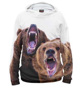 Худи женское Медведи