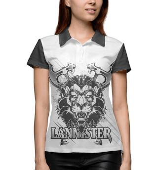 Поло женское Game of Thrones lannister
