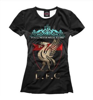 Футболка женская FC Liverpool (4982)