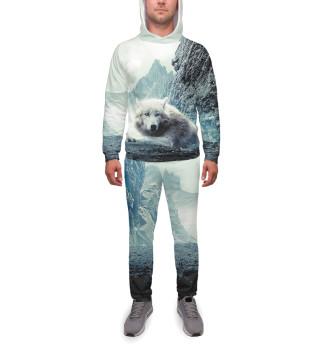 Спортивный костюм  мужской Волки