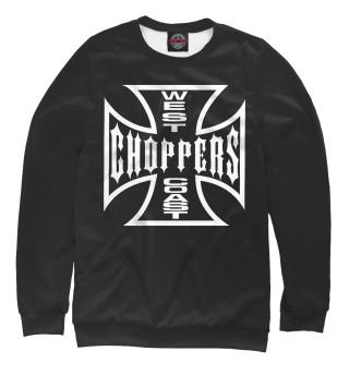 Одежда с принтом West coast choppers