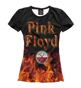 Футболка женская Pink Floyd (4412)