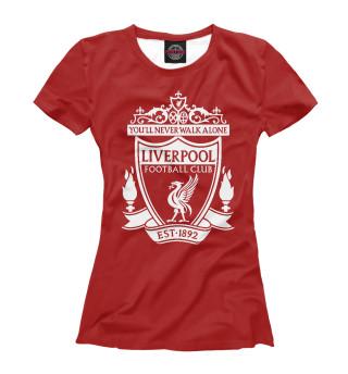 Футболка женская Liverpool FC Logo