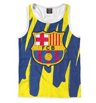 Майка борцовка мужская Герб FC Barcelona