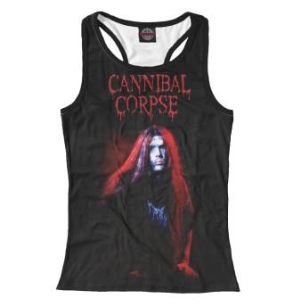 Майка борцовка женская Cannibal Corpse (9589)