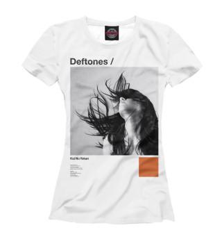 Футболка женская Deftones (7568)