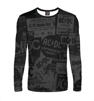 Лонгслив  мужской AC/DC
