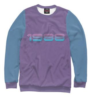 Одежда с принтом 1988 neon