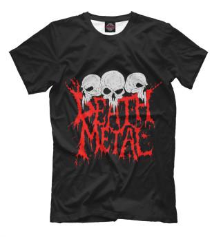 Футболка мужская Death Metal (6875)