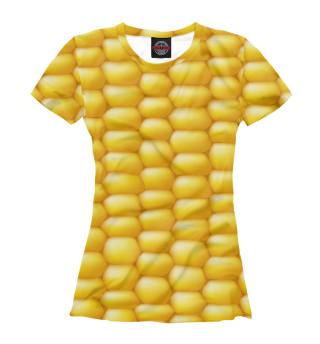 Футболка женская Кукуруза