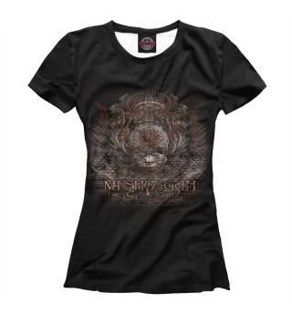 Футболка женская Meshuggah (8593)