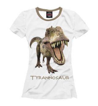 Футболка женская Тираннозавр (7947)