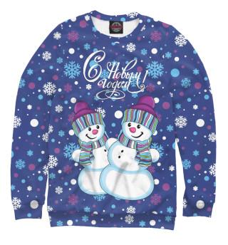 Одежда с принтом Снеговики (568899)