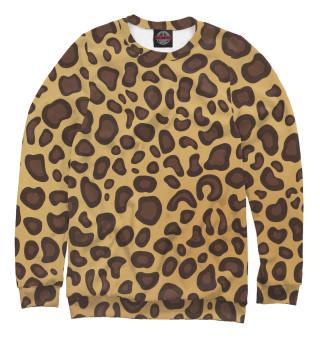 Одежда с принтом Леопардовая текстура