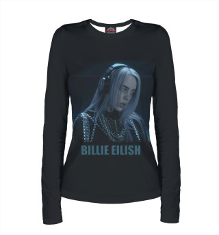 Лонгслив  женский Billie Eilish (4242)