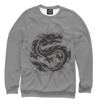 Одежда с принтом драконы