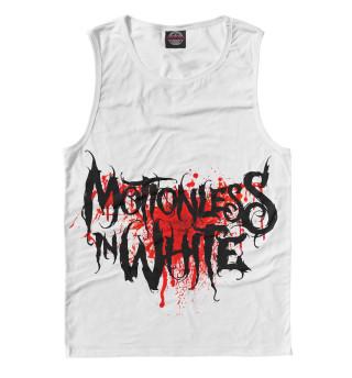 Майка мужская Motionless In White Blood Logo