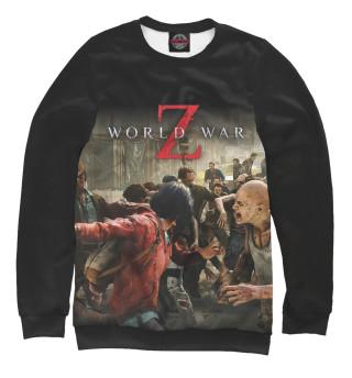 Одежда с принтом World War Z (193253)