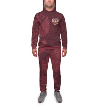 Спортивный костюм  мужской Герб России