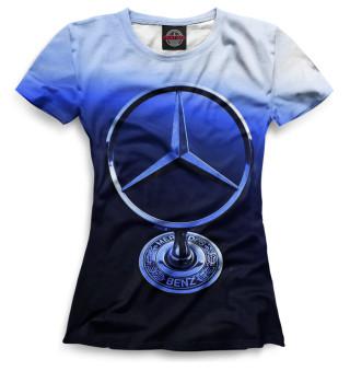 Футболка женская Mercedes-Benz (3889)