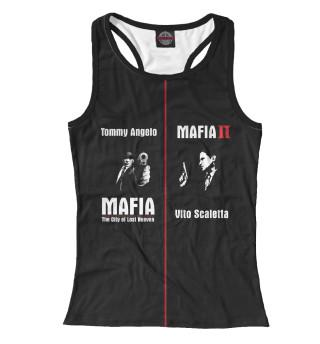 Майка борцовка женская Mafia (3259)