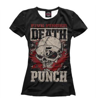 Футболка женская Five Finger Death Punch (8069)