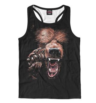 Майка борцовка мужская Медведь (3351)