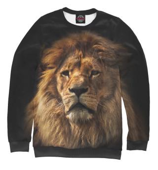 Одежда с принтом Лев