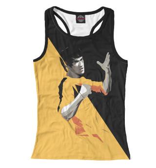 Майка борцовка женская Bruce Lee (YB)