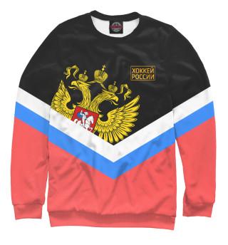 Одежда с принтом Хоккей России