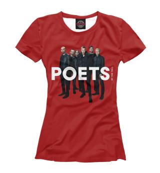 Футболка женская Poets of the Fall (1412)