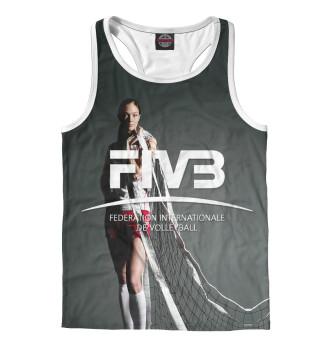 Майка борцовка мужская FIVB, Federation Internationale de Volleibal