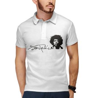 Поло мужское Jimi Hendrix (6037)