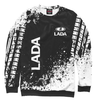 Одежда с принтом Lada (221625)