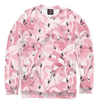 Одежда с принтом Фламинго (317616)