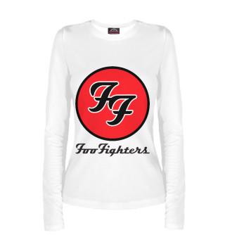 Лонгслив  женский Foo Fighters (5590)