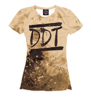 Футболка женская DDT (4073)