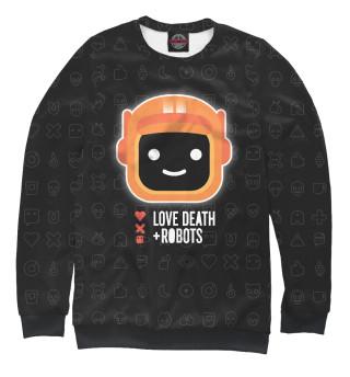 Одежда с принтом Любовь, смерть и роботы (228170)