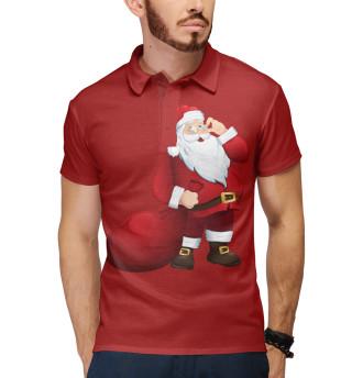 Поло мужское Дед Мороз