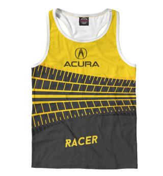 Майка борцовка мужская Acura racer