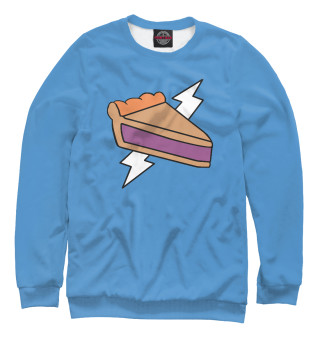 Одежда с принтом Человек Пирог