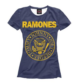 Футболка женская Ramones