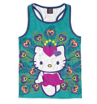 Майка борцовка мужская Hello Kitty (8231)