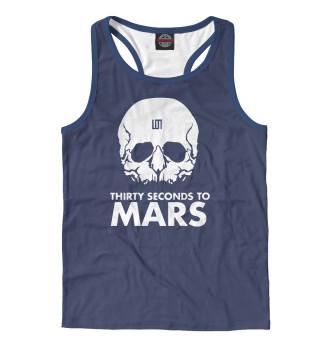 Майка борцовка мужская 30 Seconds to Mars (7196)